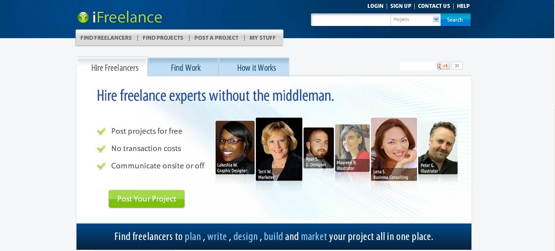 iFreelance Jobs Search Platform for Freelancing Jobs